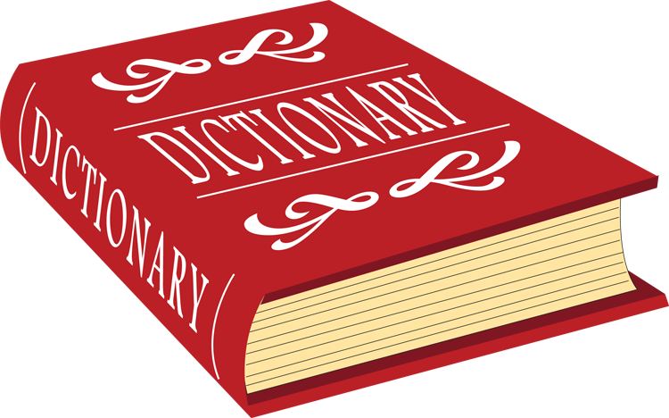 Language arts flipquiz. Dictionary clipart dictionary thesaurus