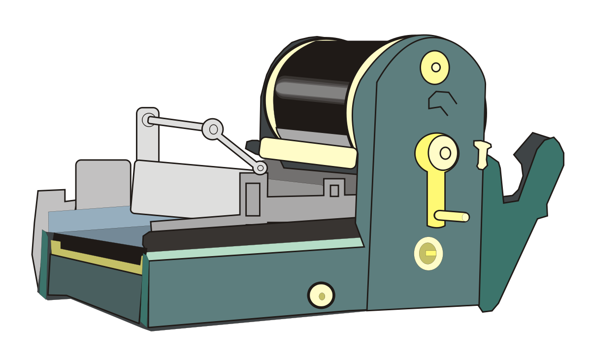 Manager clipart old. Mimeograph wikipedia
