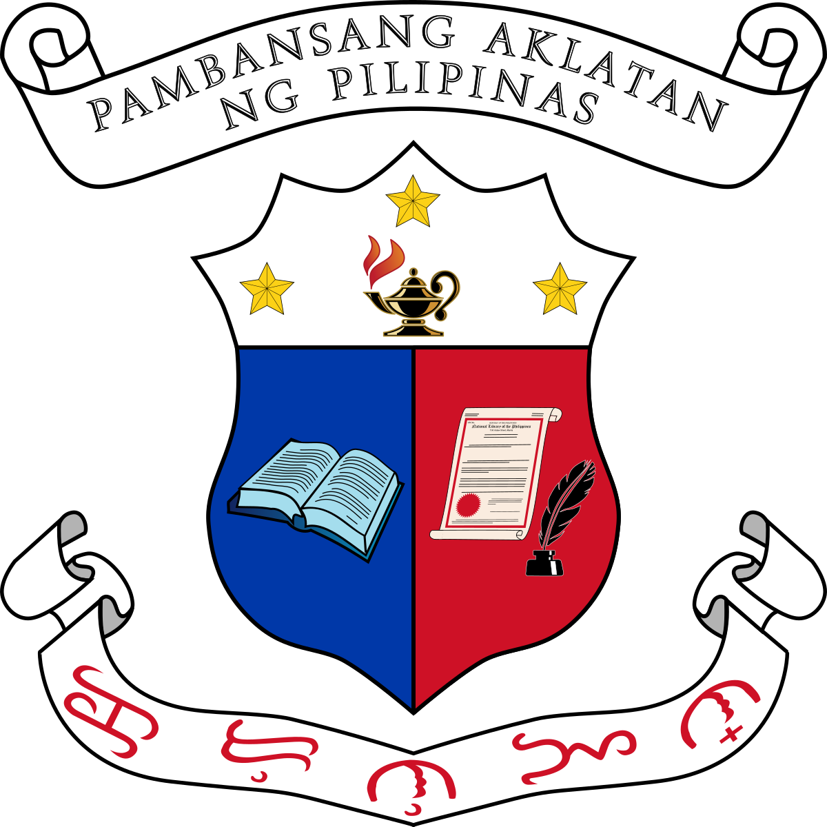 National library of the. Respect clipart symbol filipino