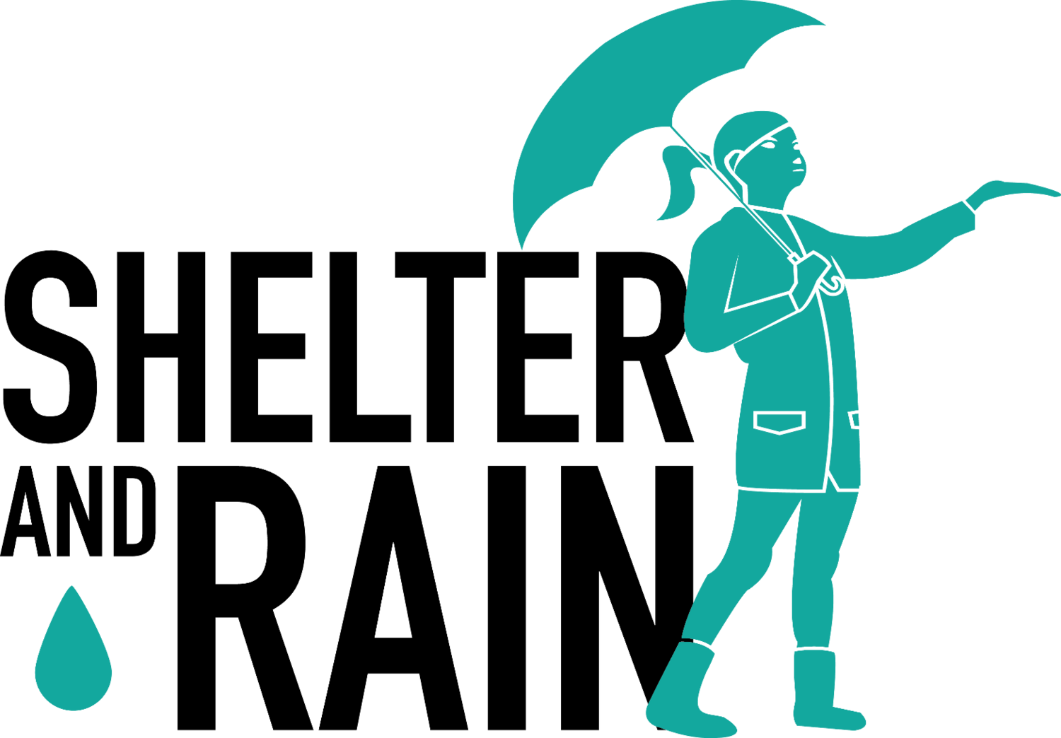 Excited clipart rejoice in lord. Shelter and rain human