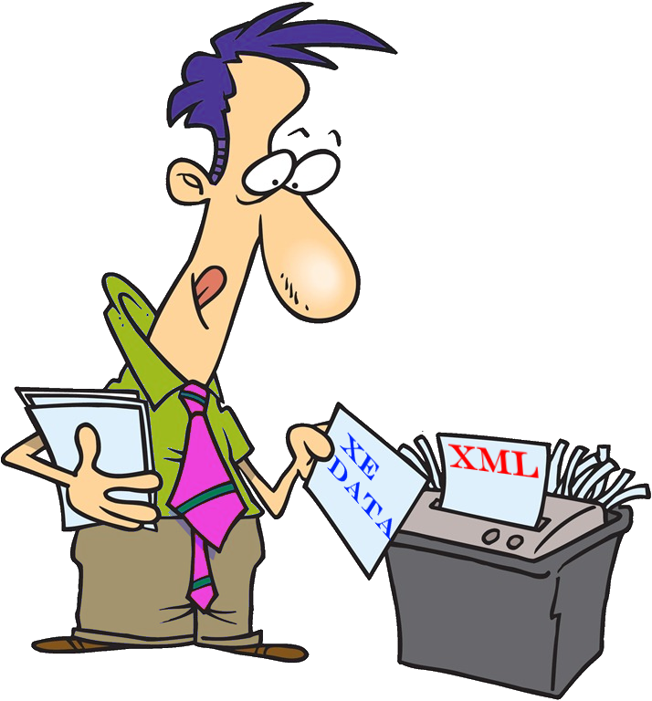 Easily shred event data. Clipart definition query
