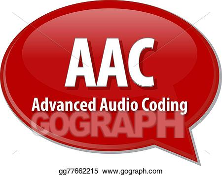 Clipart definition term. Stock illustrations aac acronym