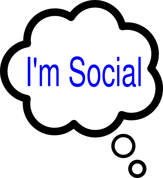 Clipart definition thought. Sociable group im social