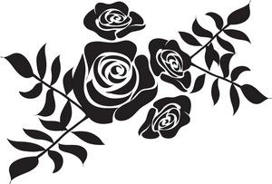 Clipart design. Clip art stencil designs