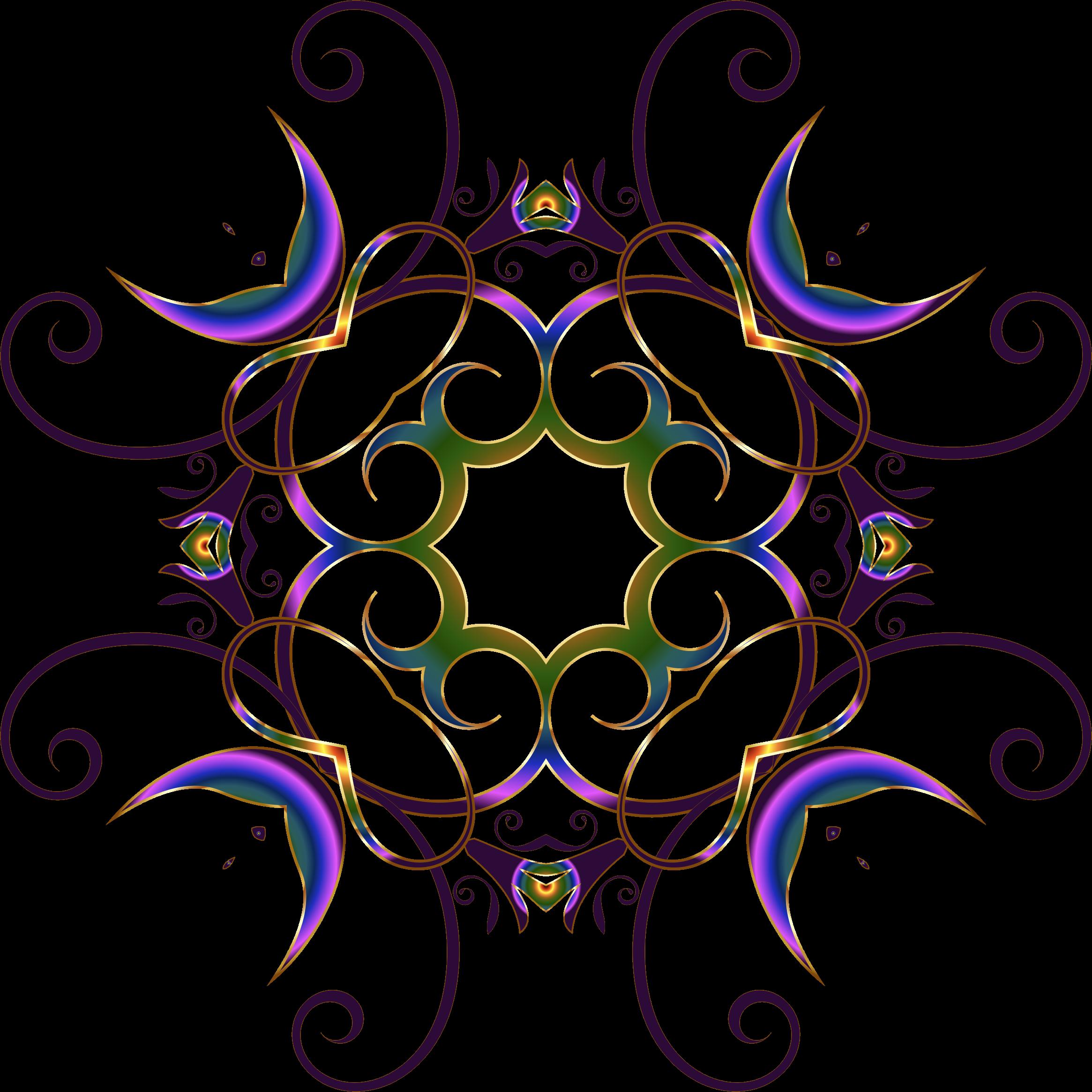 Flourishy floral no big. Design clipart background