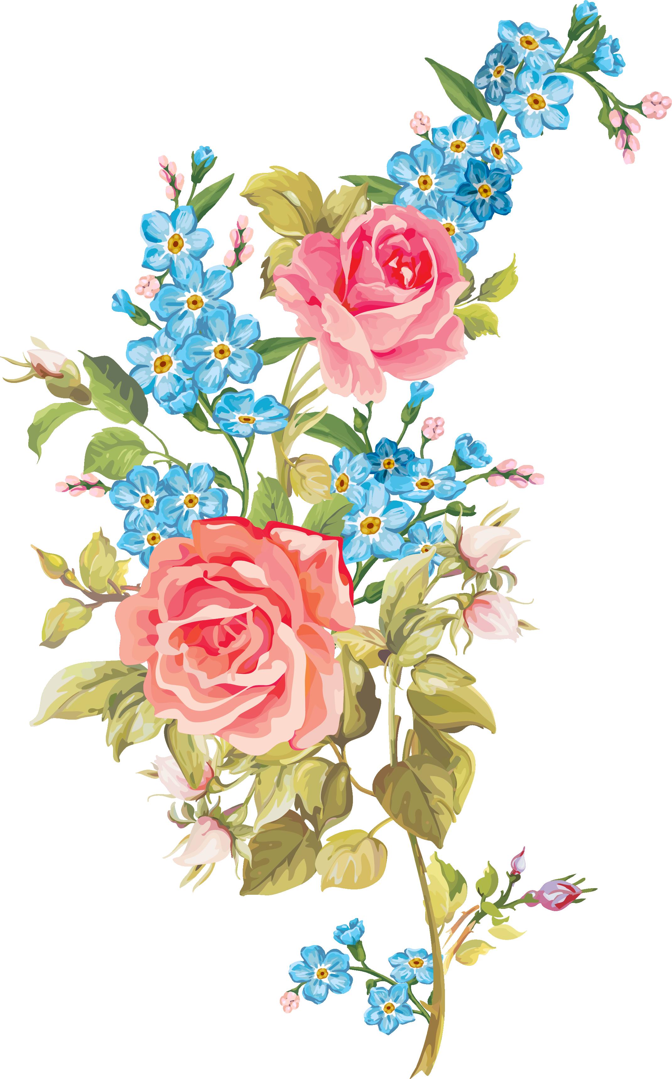 My flowers decoupage pinterest. Clipart design beautiful