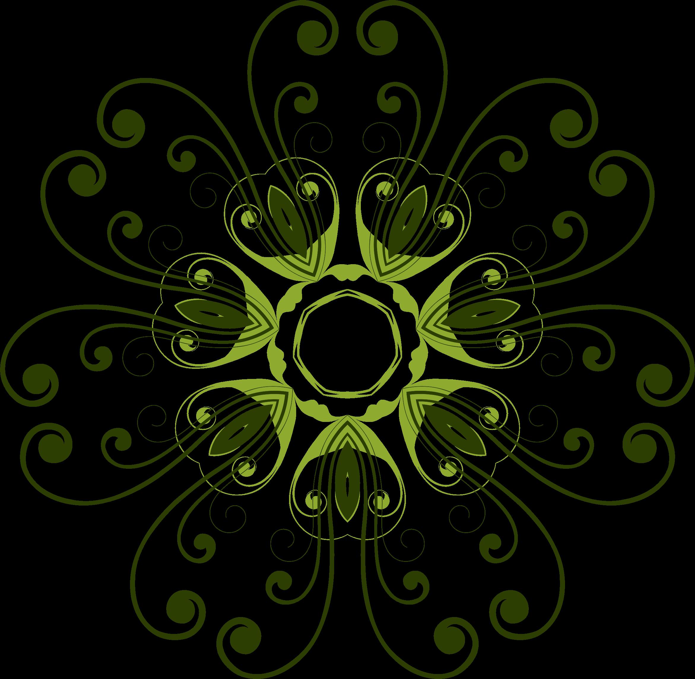 Flower design png. Clipart flourish big image