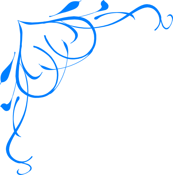 Lines clipart dividing line. Blue border panda free