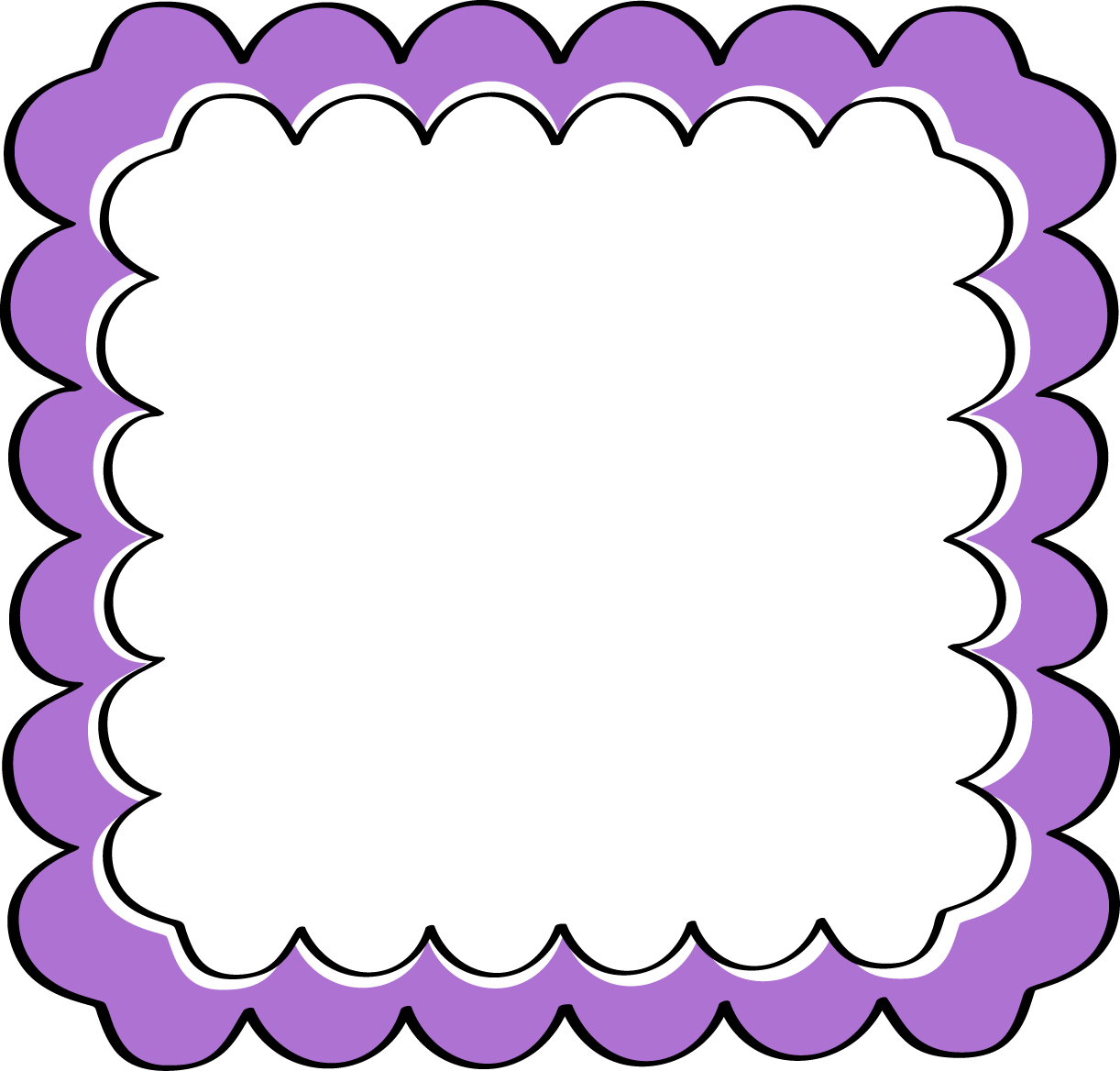 Gate clipart border clipart. Broadway borders and frames