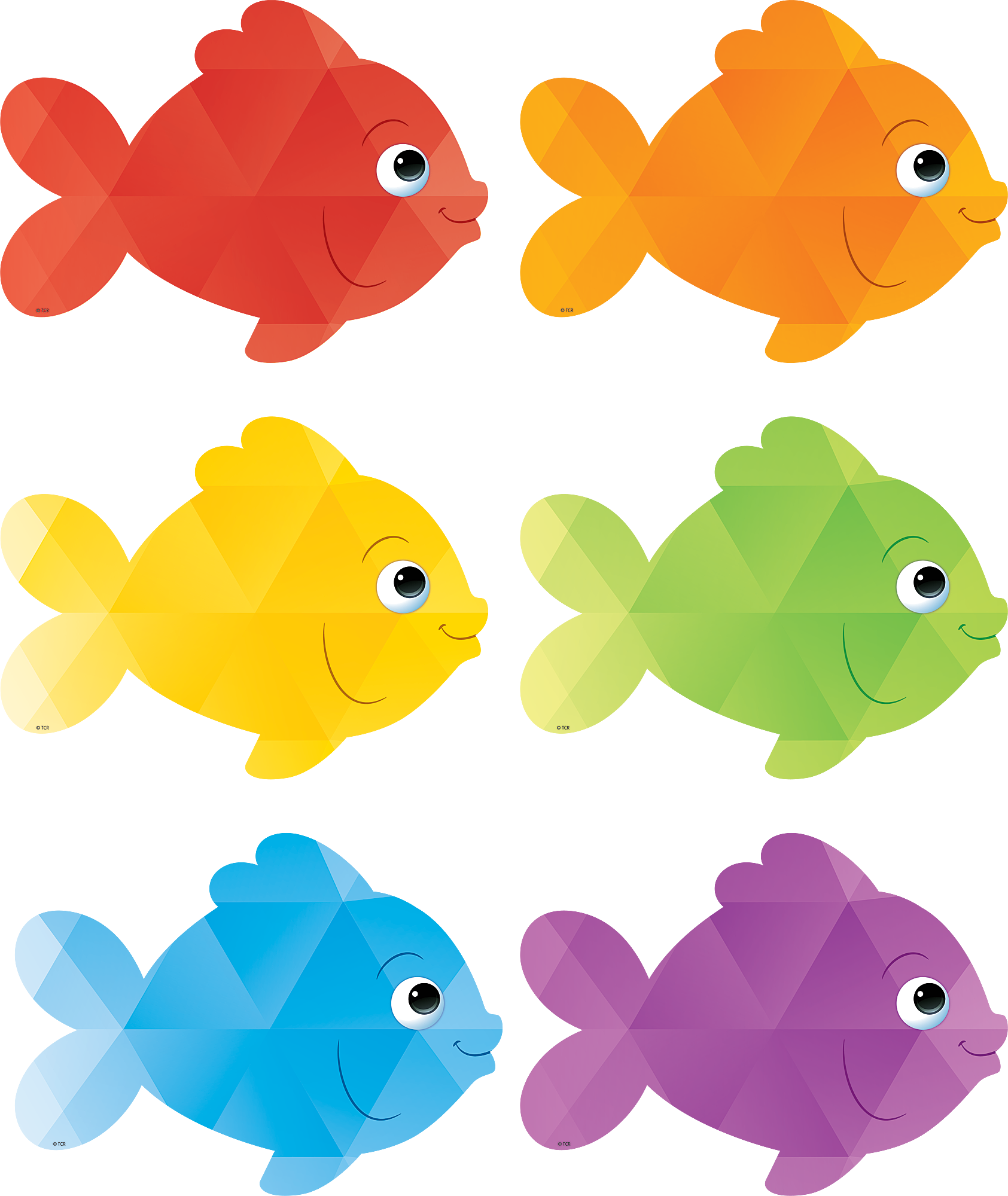 Colorful accents pinterest bulletin. Clipart frames fish