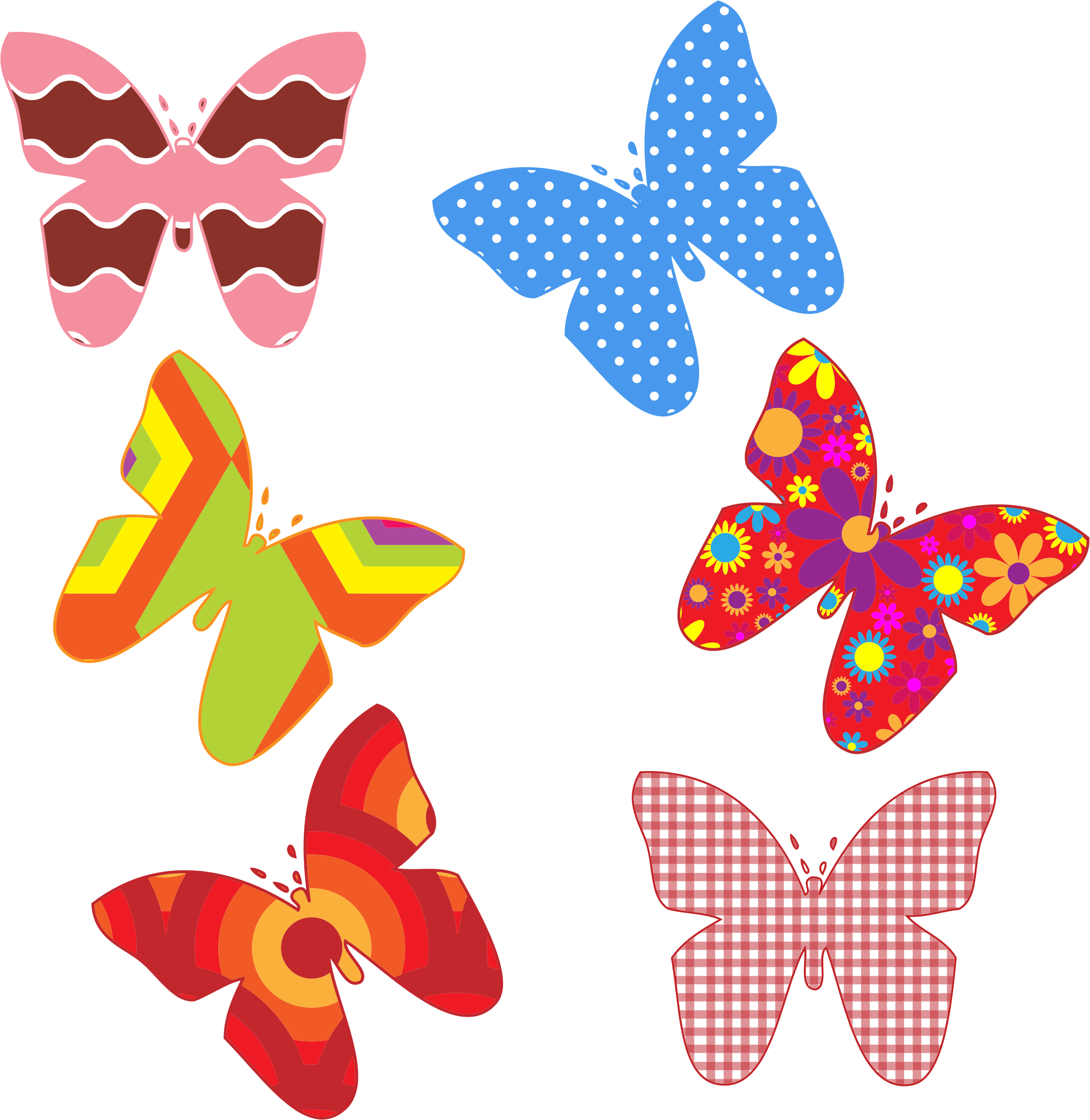 collection of colorful. Pattern clipart clip art