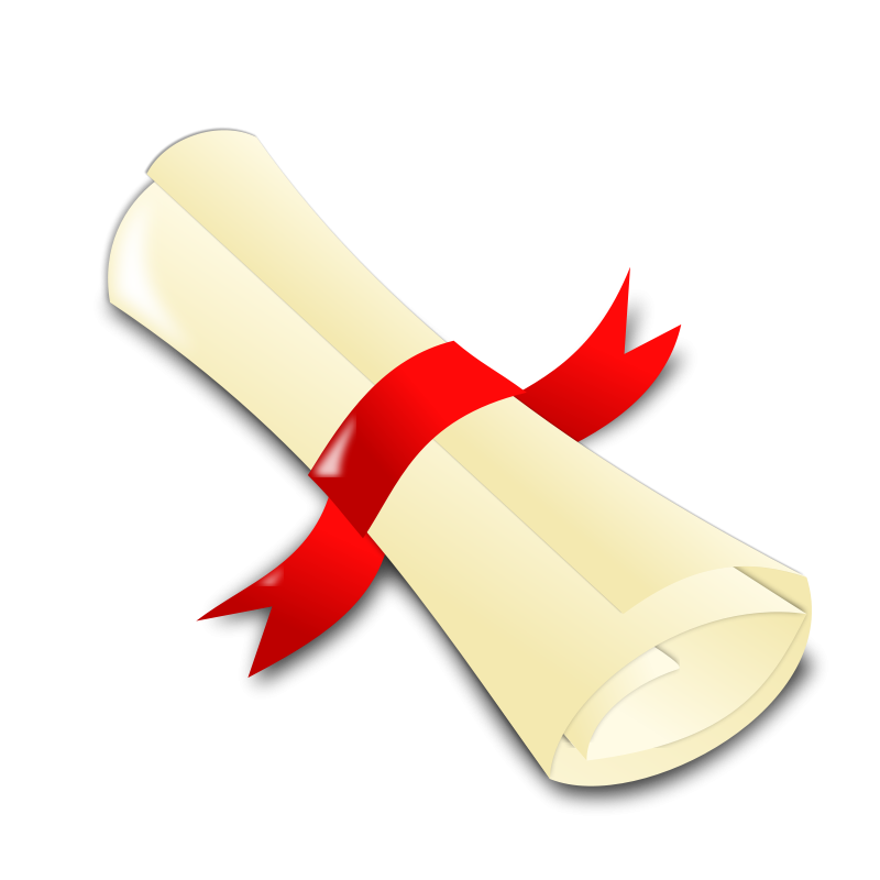 Streamers clipart graduation. Icon free and frames