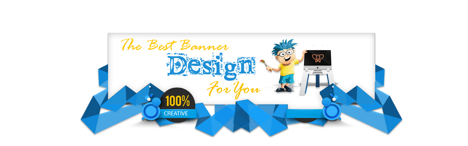 Banner design pinterest. Youtube clipart creative