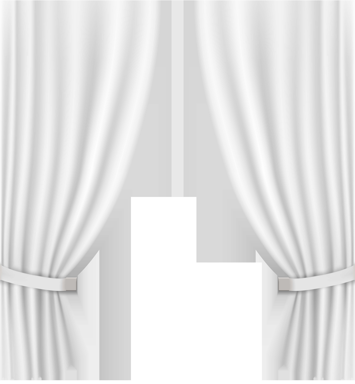 Win clipart curtain clipart. Transparent white clip art