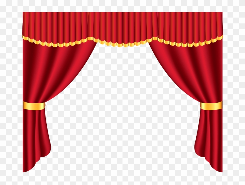 Jpg transparent stock red. Curtains clipart theater director