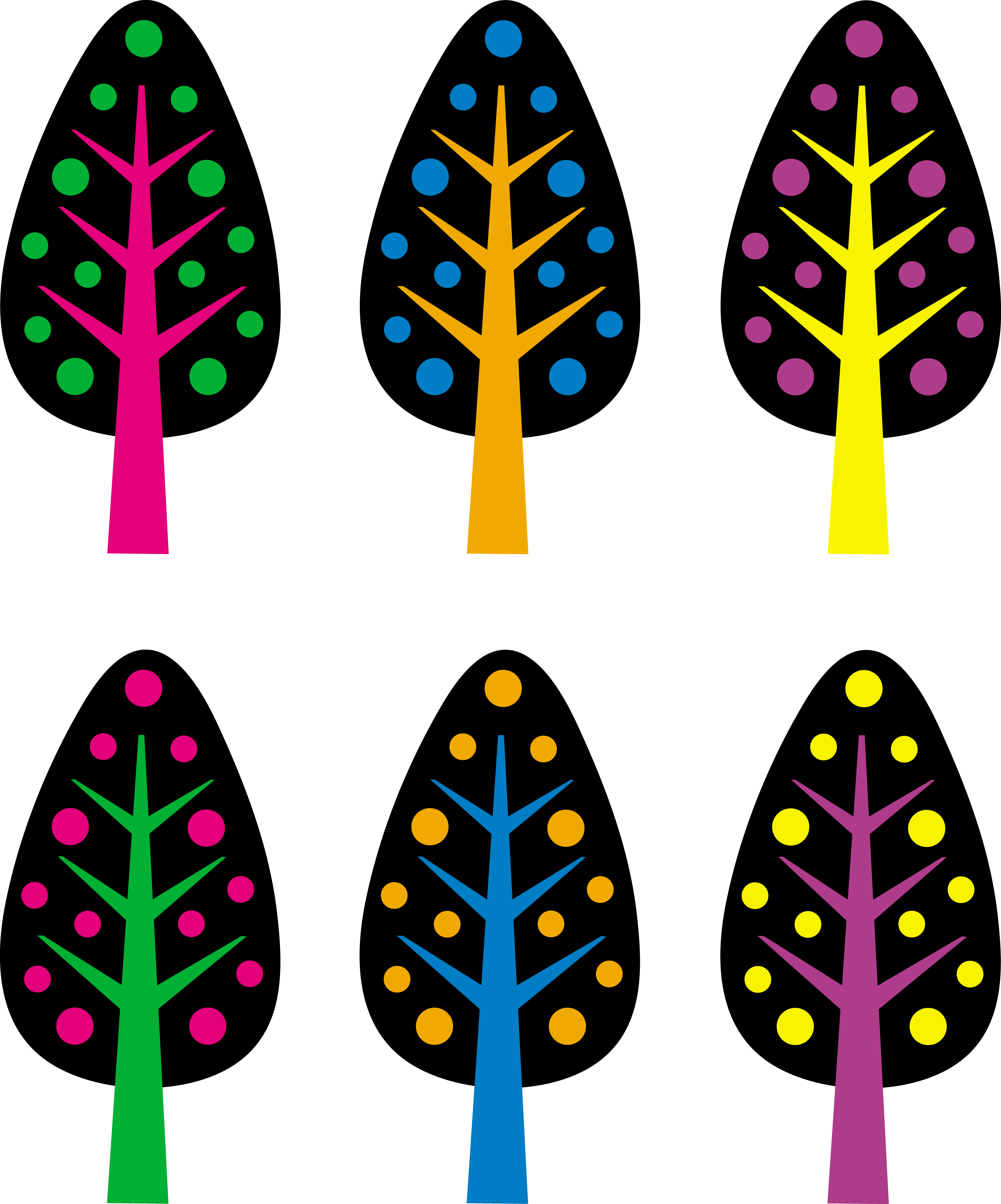 Cute christmas trees free. Moustache clipart neon