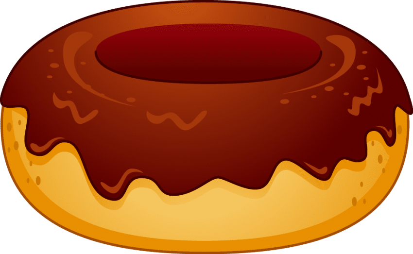 Donut clipart red. Png free images toppng