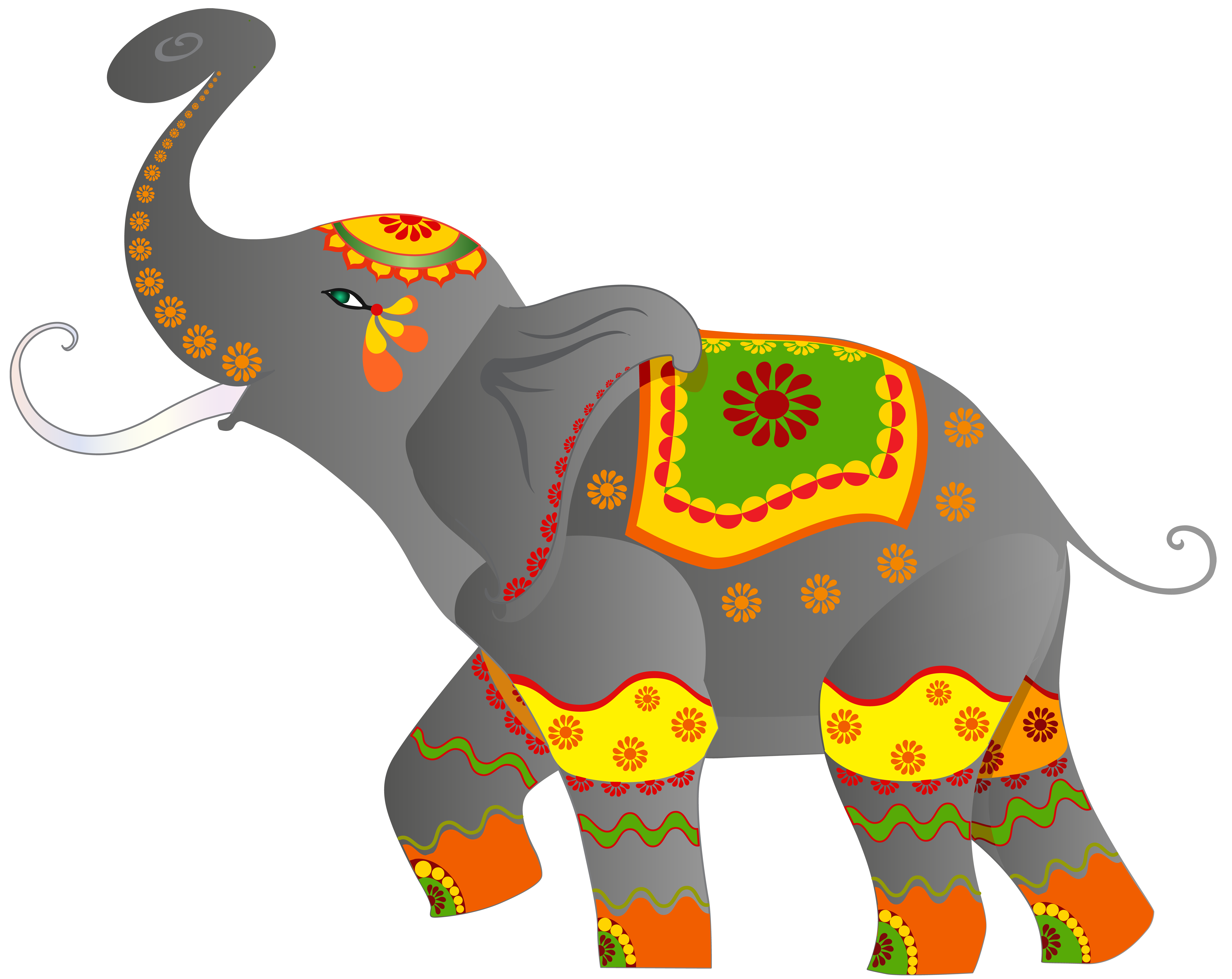 Clipart trees elephant. African at getdrawings com