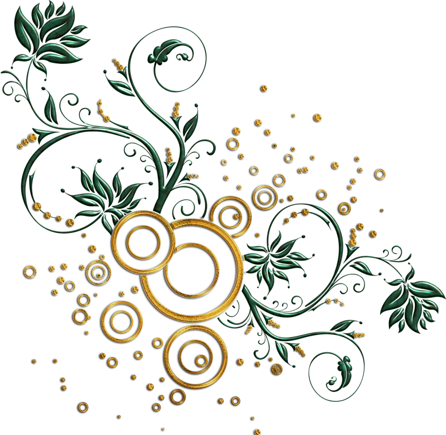 Leaves and swirls png. Magic clipart swirly design