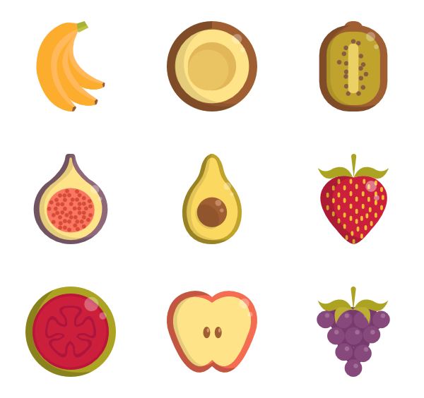 Vegetables clipart healthy food.  fruits icon packs