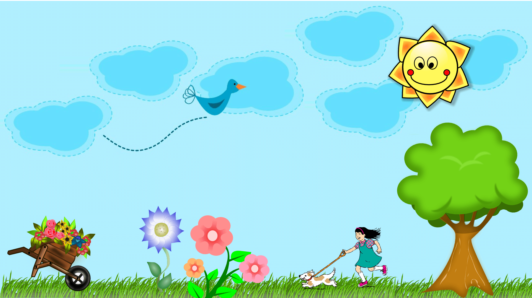 Garden design cliparts zone. Gardening clipart animated