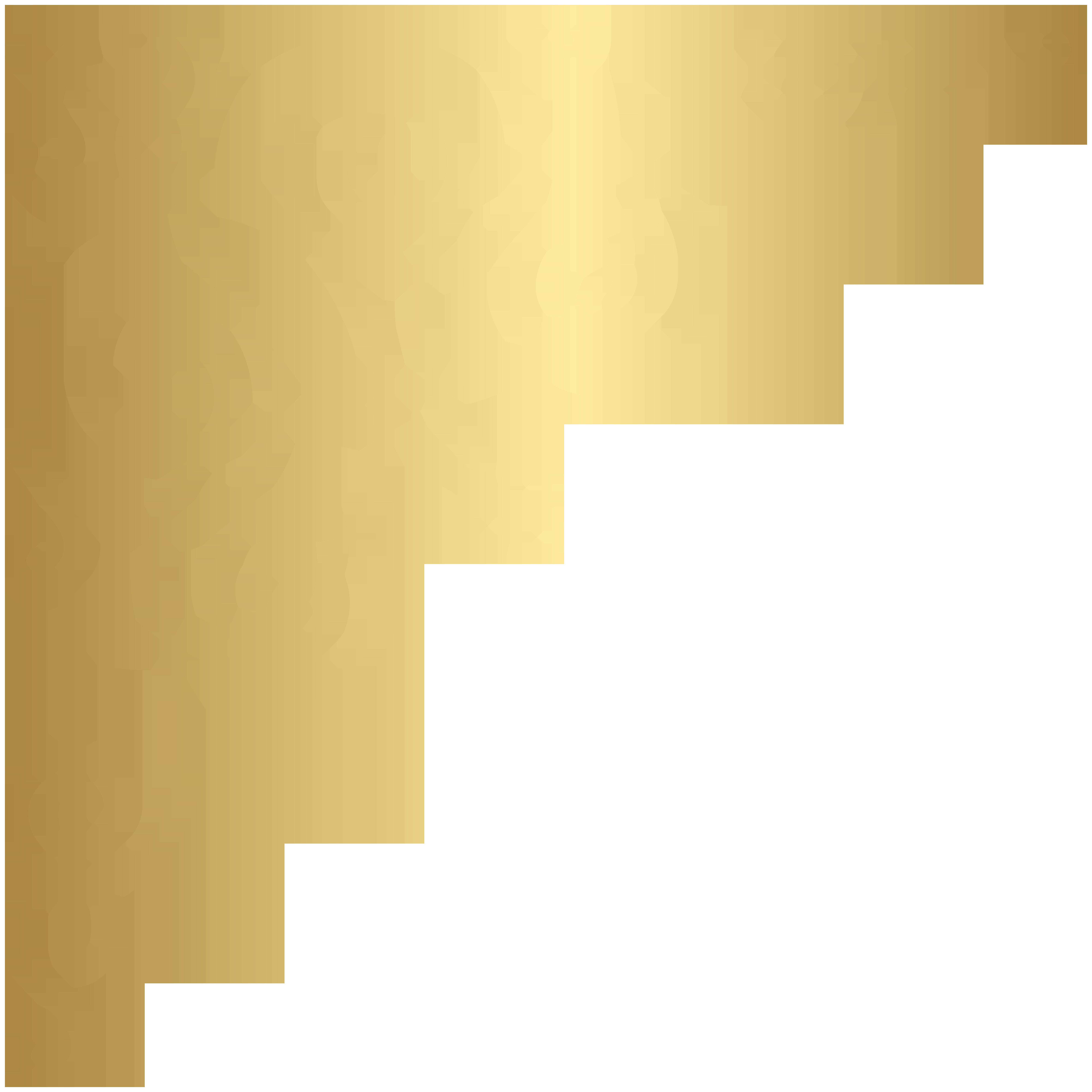 Gold clip art image. Wheat clipart corner