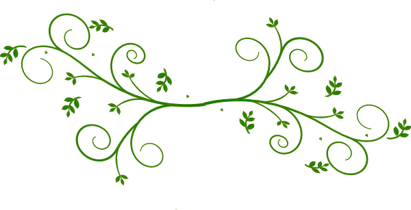 Clipart designs green. Floral design clip art