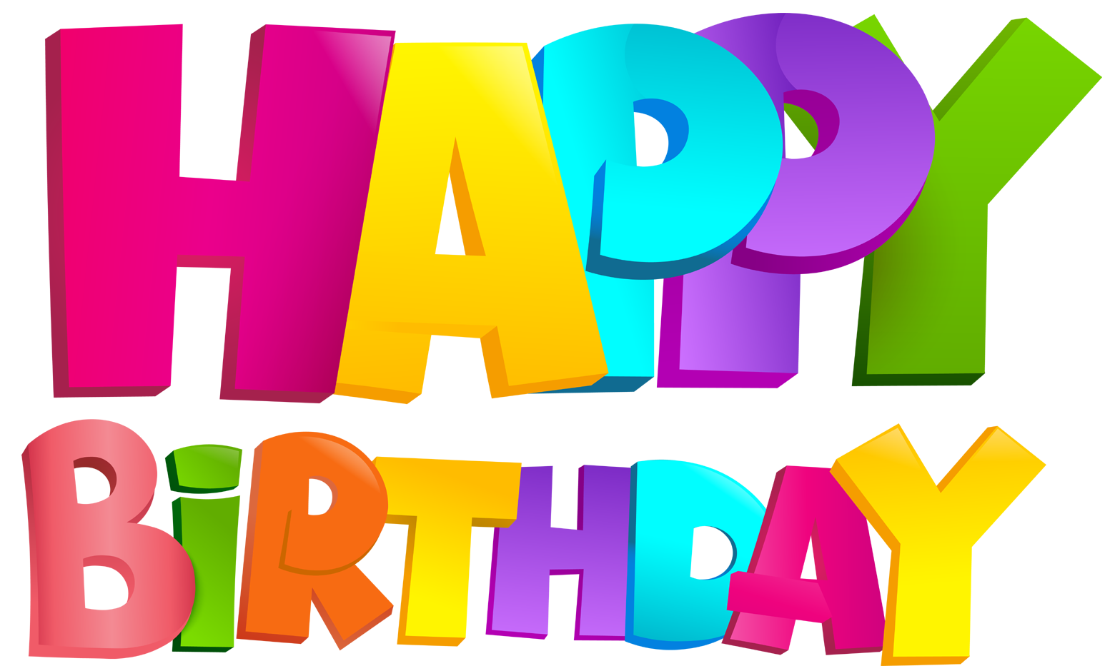 Happy birthday png images. Text d art free