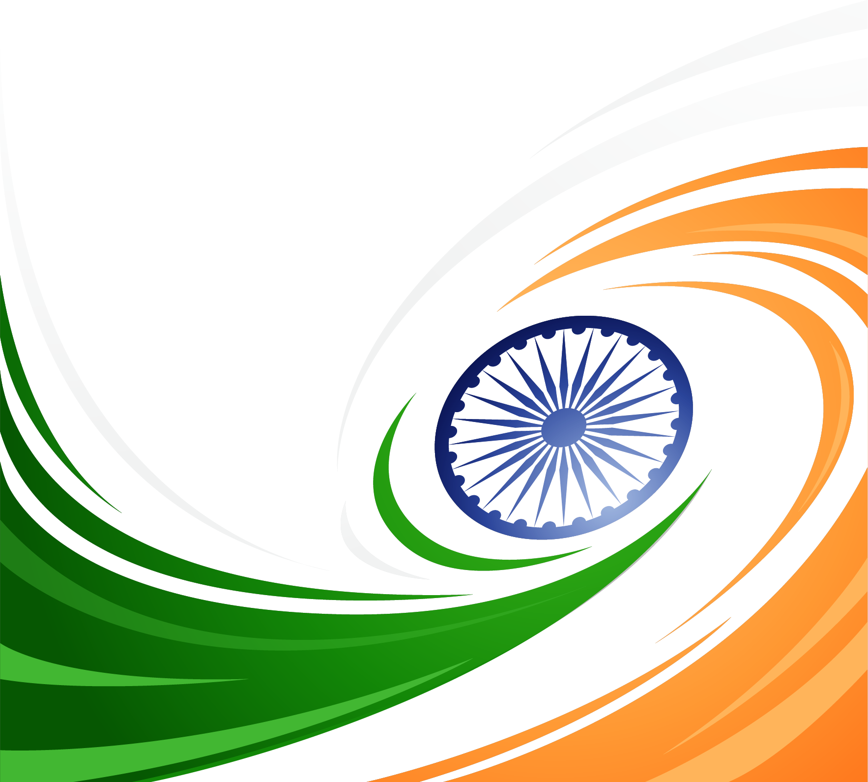 Png transparent free images. Wheel clipart flag indian
