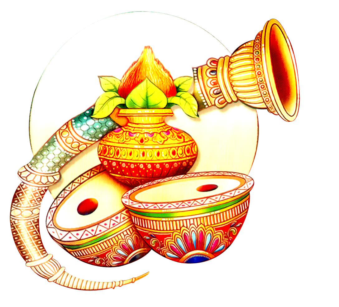 collection of hindu. Clipart wedding dtp