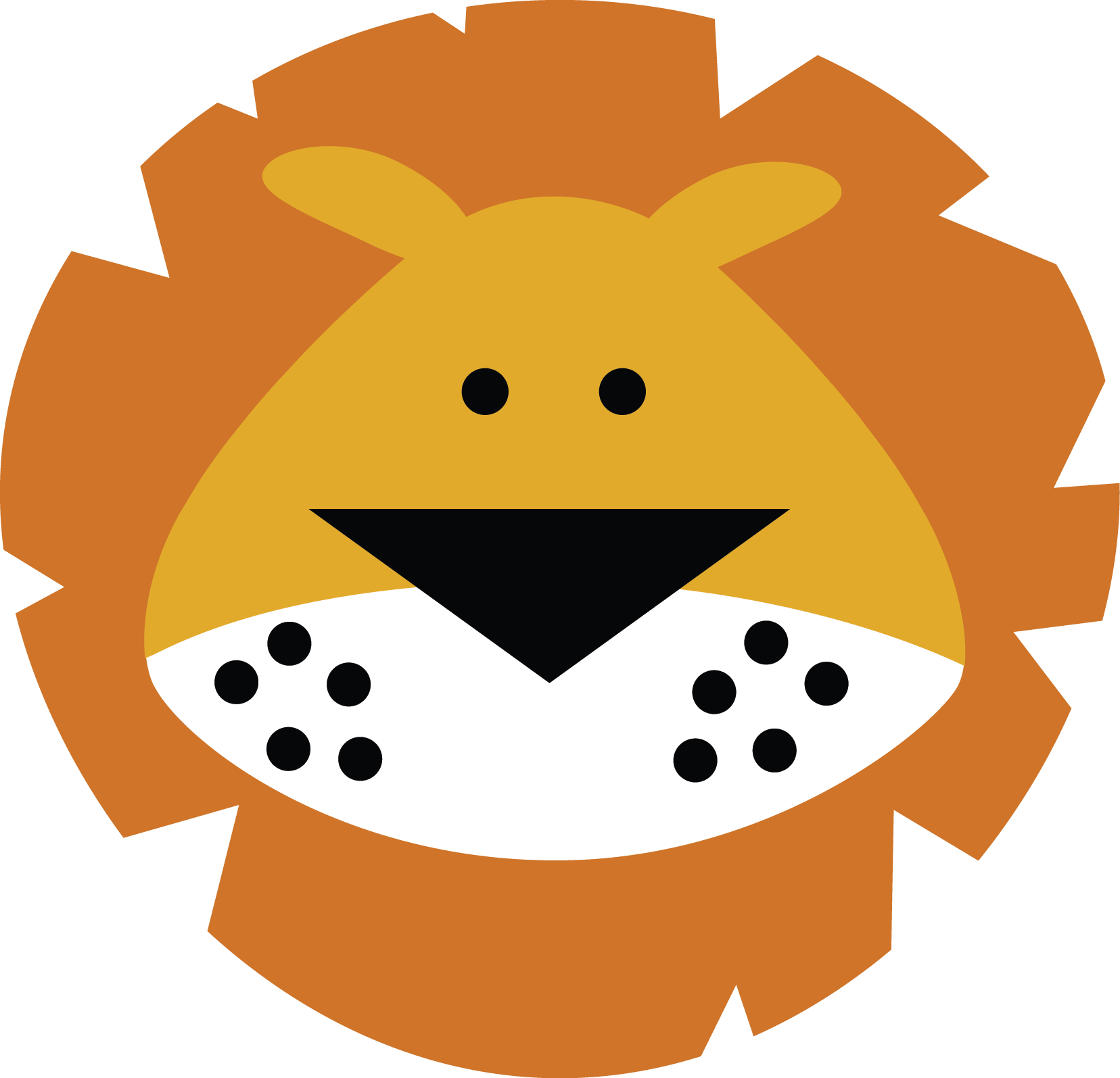 Lion face miss kate. Excited clipart keen