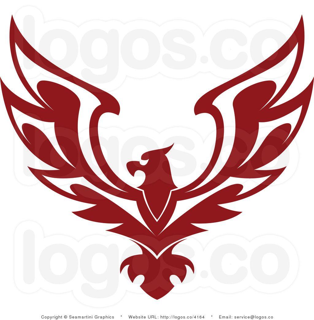 Logo design royalty free. Eagles clipart badge
