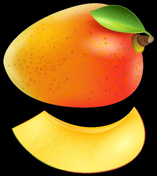 Fruits clipart papaya. Mango transparent png clip