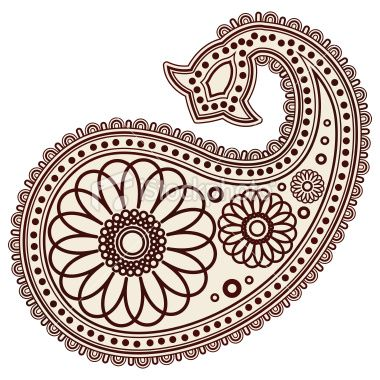 Free pattern download clip. Paisley clipart mango