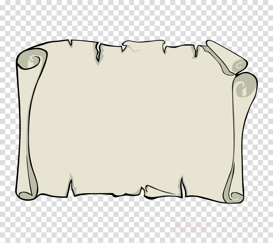 Clipart map paper. Border design black and