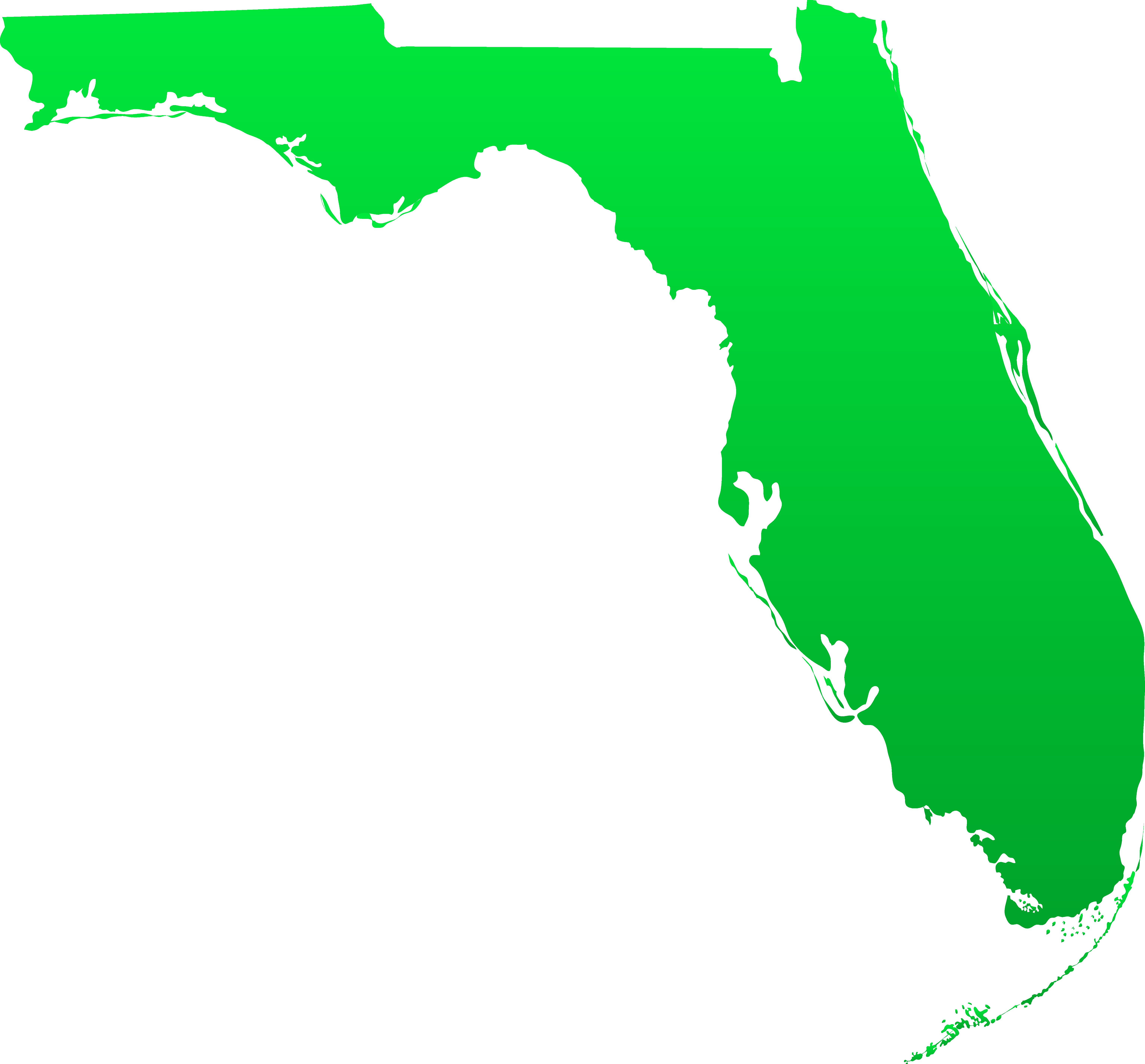 Clipart pencil map. Florida state design free