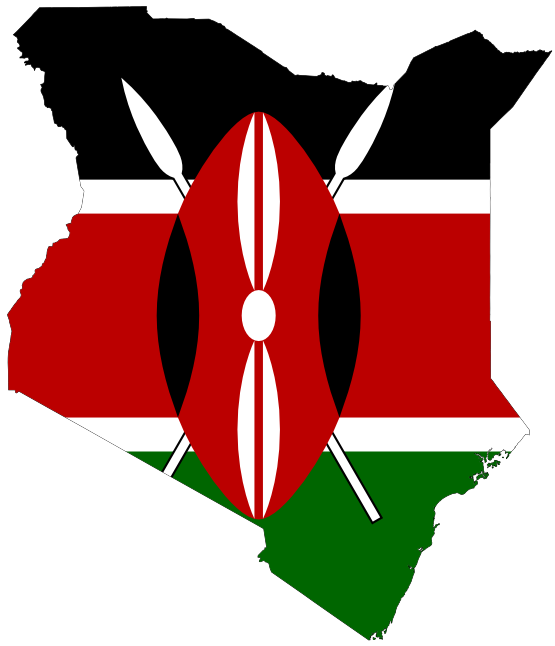 Kenya Map Clipart