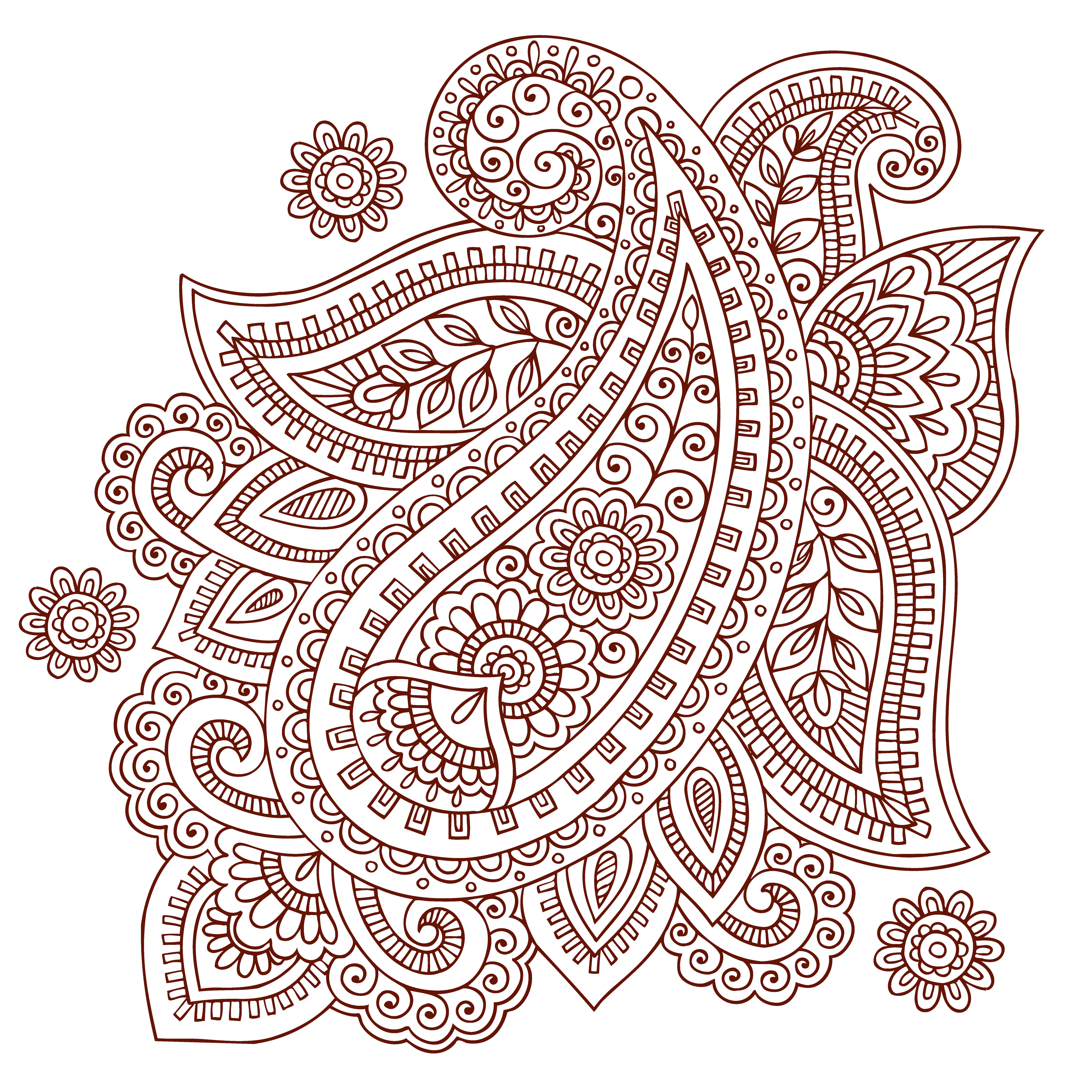 collection of mehndi. Lace clipart mehandi design