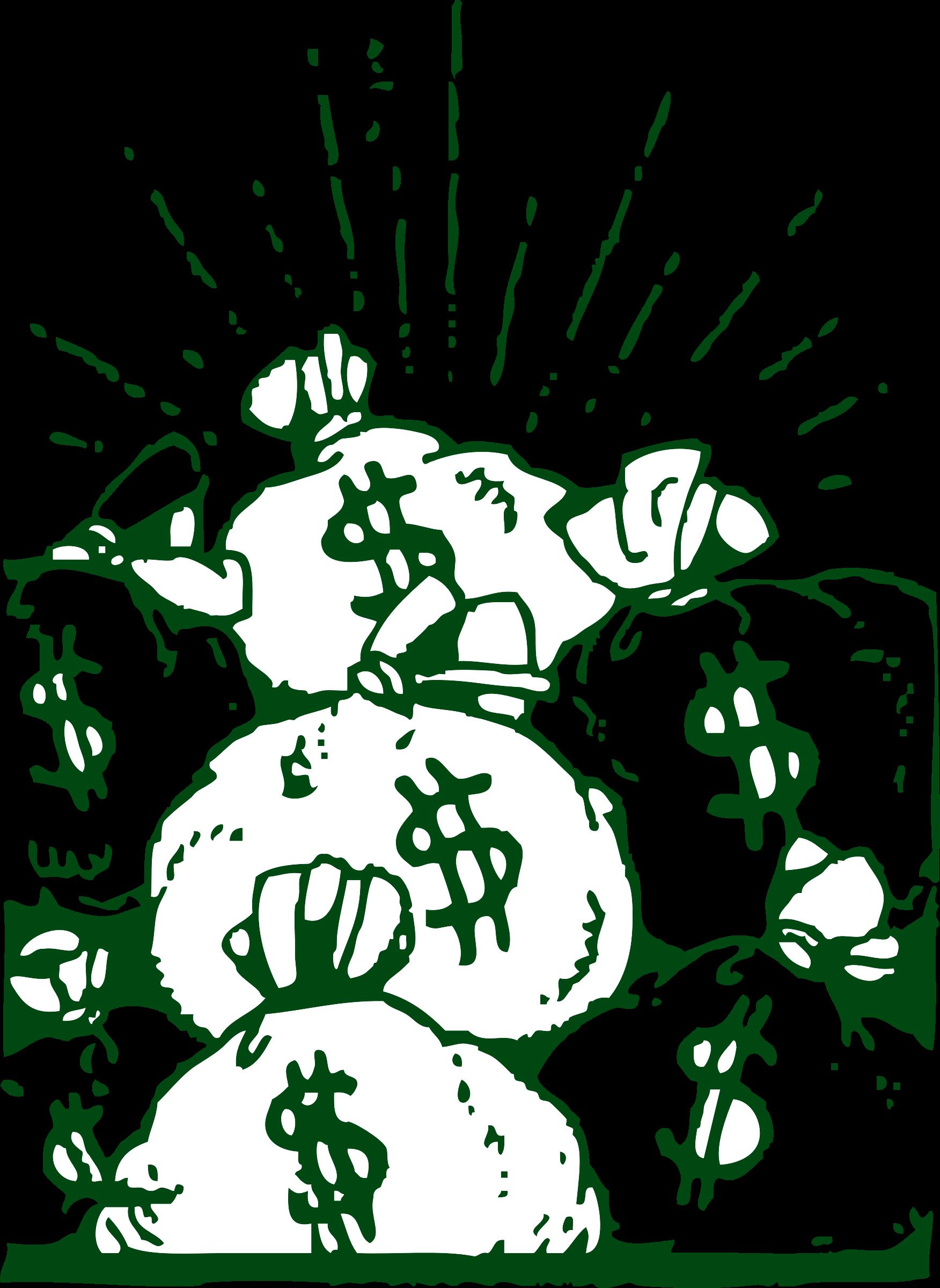 Design clipart money. Bags big image png