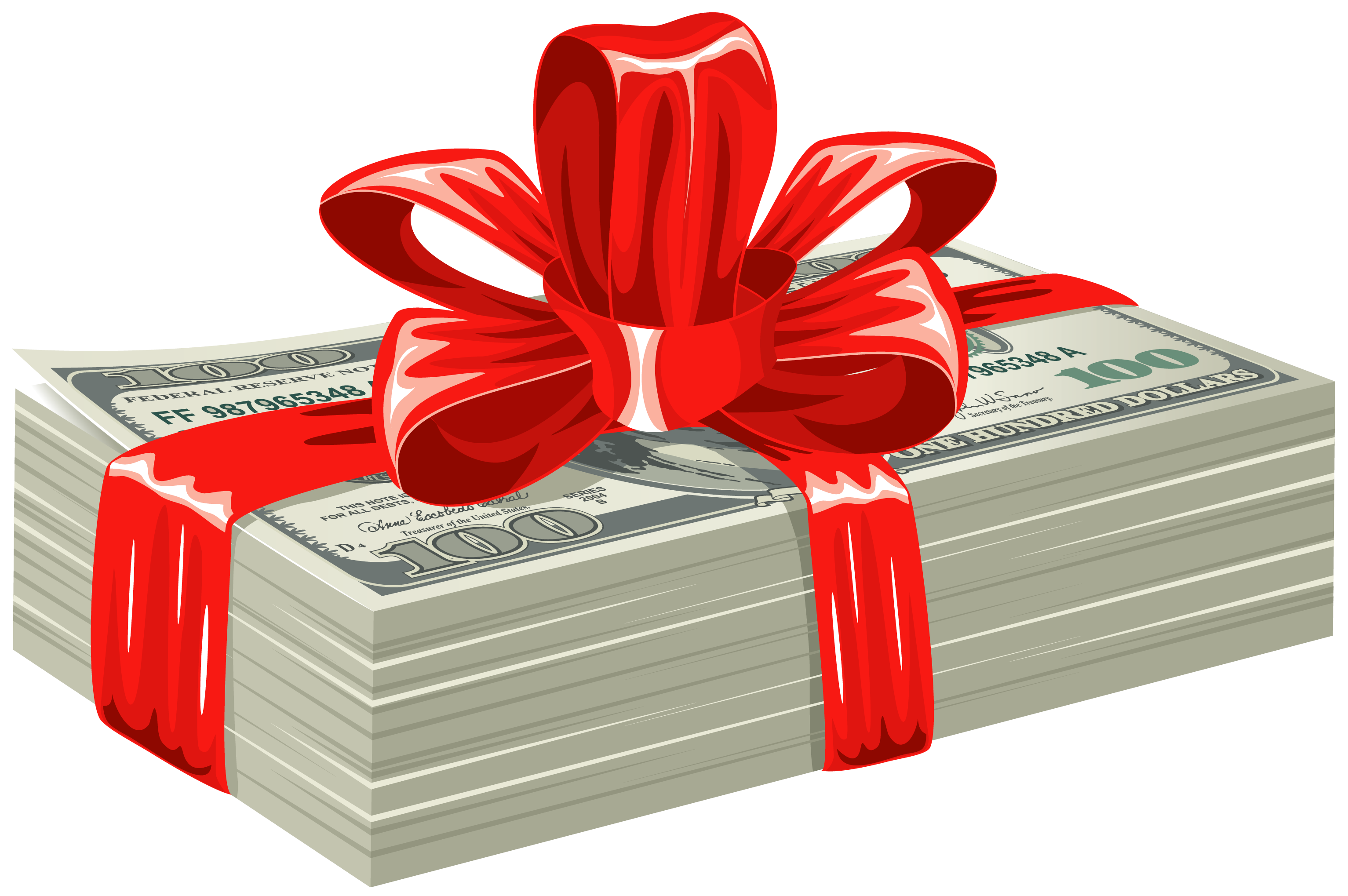 Dollars gift png gallery. Clipart easter money