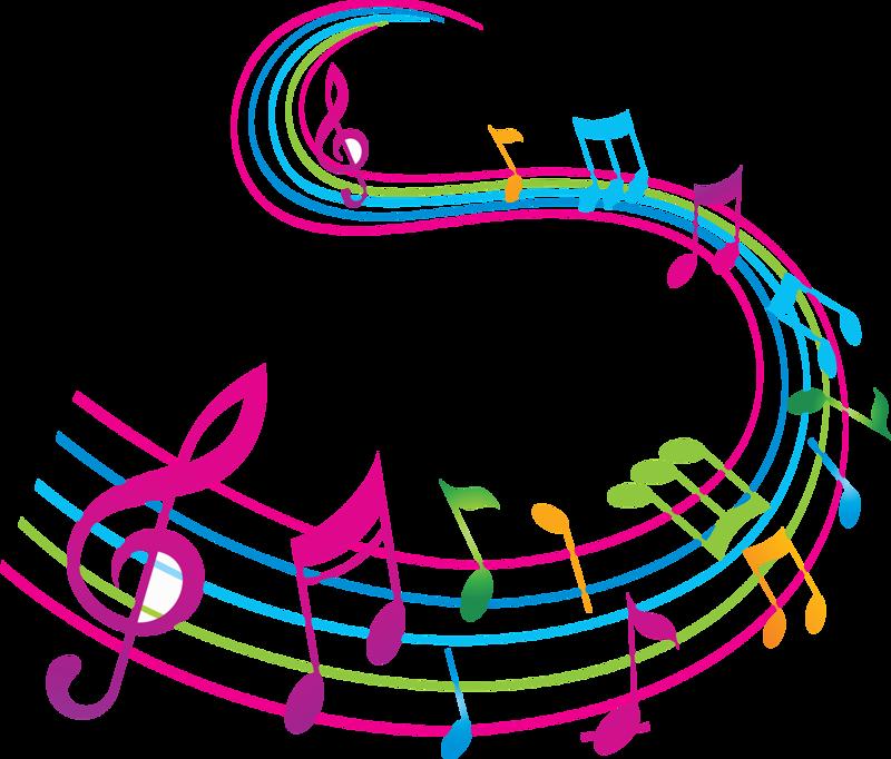 Clipart music abstract. Notes de musique pinterest