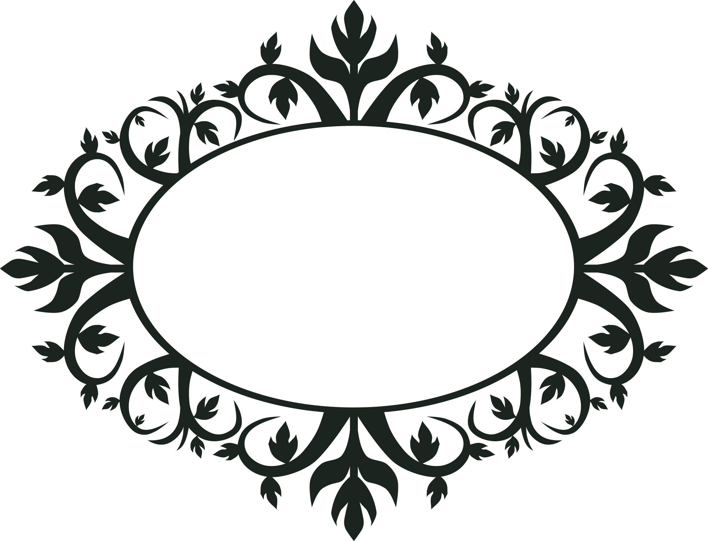Ornament frame by jokantola. Lace clipart oval