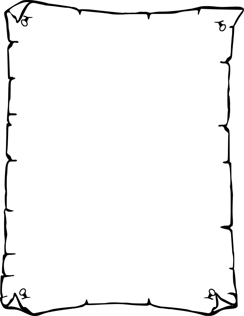 Clipart design paper. Borders for library clip