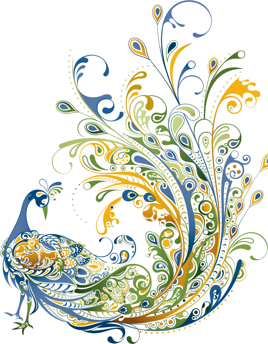 Transparent png pictures free. Clipart designs peacock
