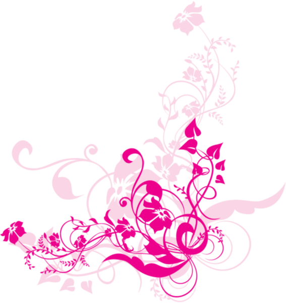 Swirl flowers free images. Flower design png