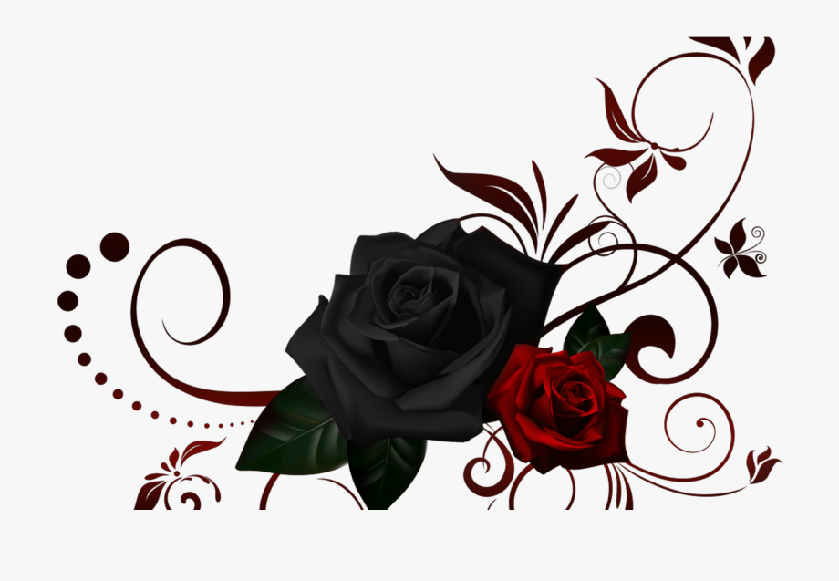Clipart design rose. Collection of free cornering