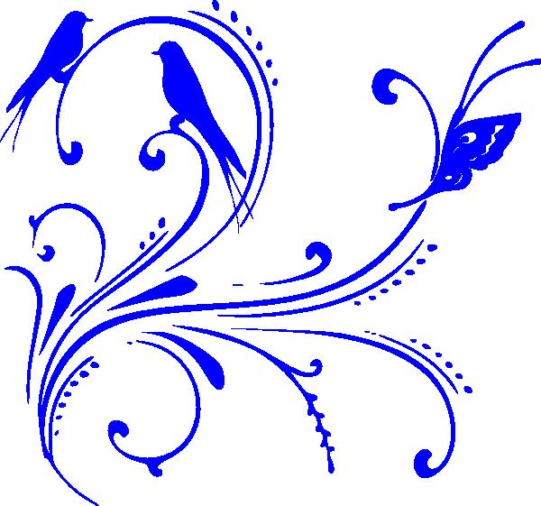 Blue clip art at. Clipart design royal
