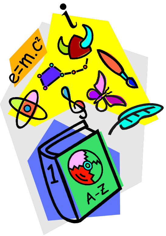 Arts and science . Galaxy clipart clip art