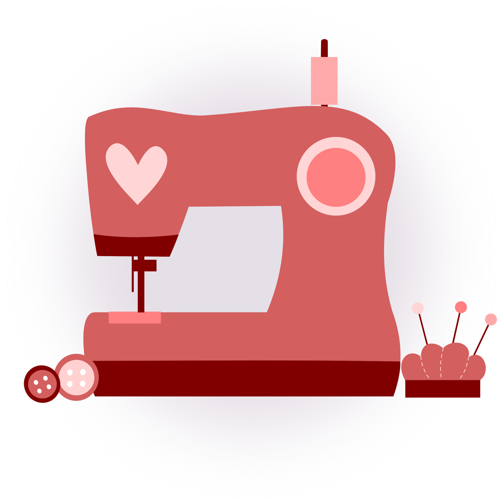 Inkscape clip art rosa. Man clipart sewing