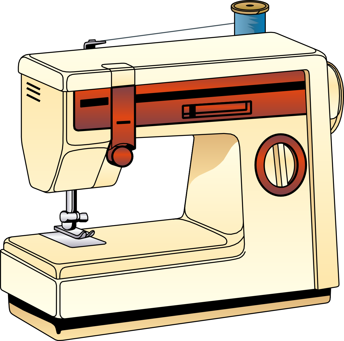 Tool clipart kid. Sewing machine